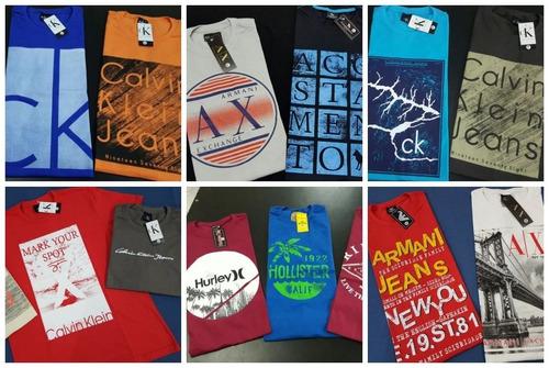 kit 5 camiseta masculina camisa blusa baratas atacado