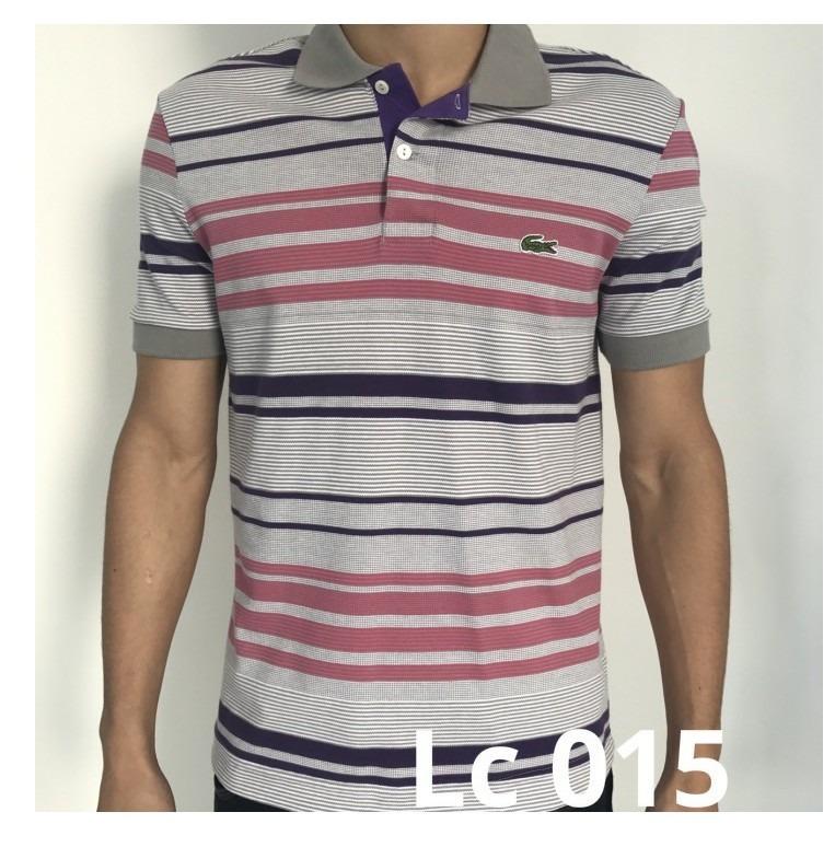688cb815b41f2 Kit 5 Camiseta Polo Lacoste Original Promoção Atacado Frete - R  500 ...