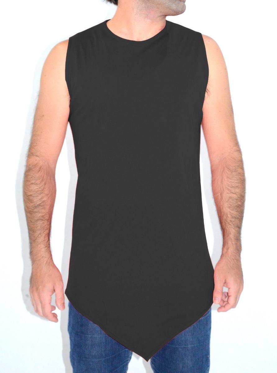 deb6c94687 kit 5 camiseta swag regata longline oversized corte em v. Carregando zoom.