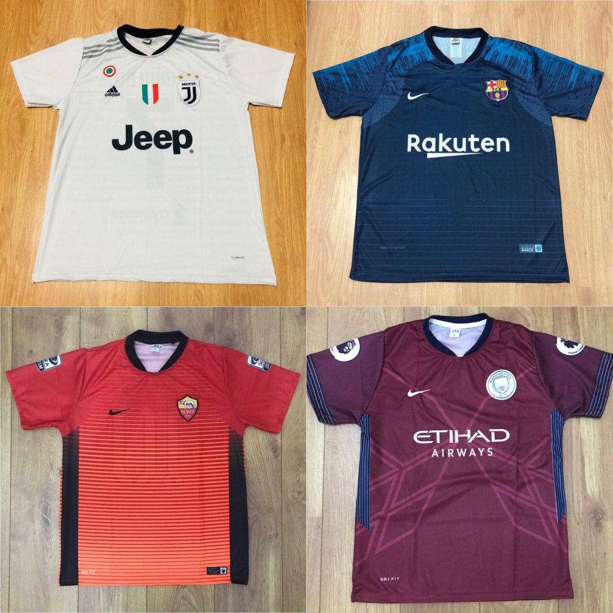 Kit 5 Camisetas De Time Camisas De Futebol 100 Modelos 2018 - R  119 ... 01a6eb9ca0846