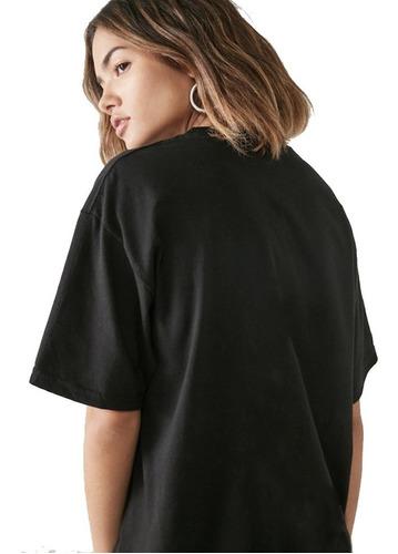 kit 5 camisetas feminina t-shirt moda tumblr larguinha