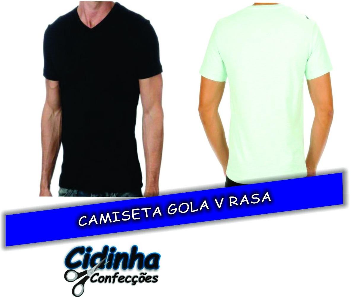 Características. Marca CIDINHA CONFECÇÕES  Modelo Camisetas Gola V ... dbdc50f74ab