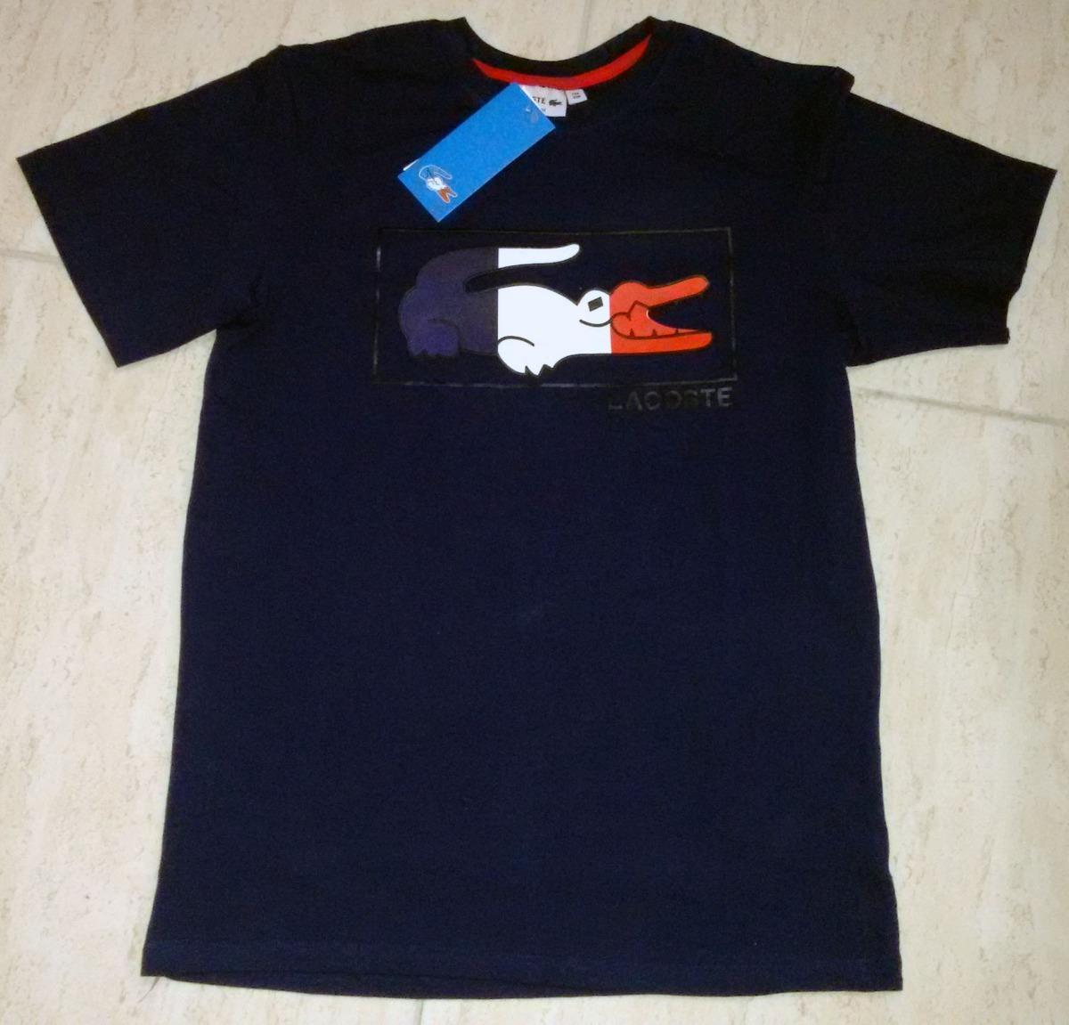 Kit 5 Camisetas Lacoste Live - Frete Grátis Super Rápido - R  449,00 ... 3d3b853377