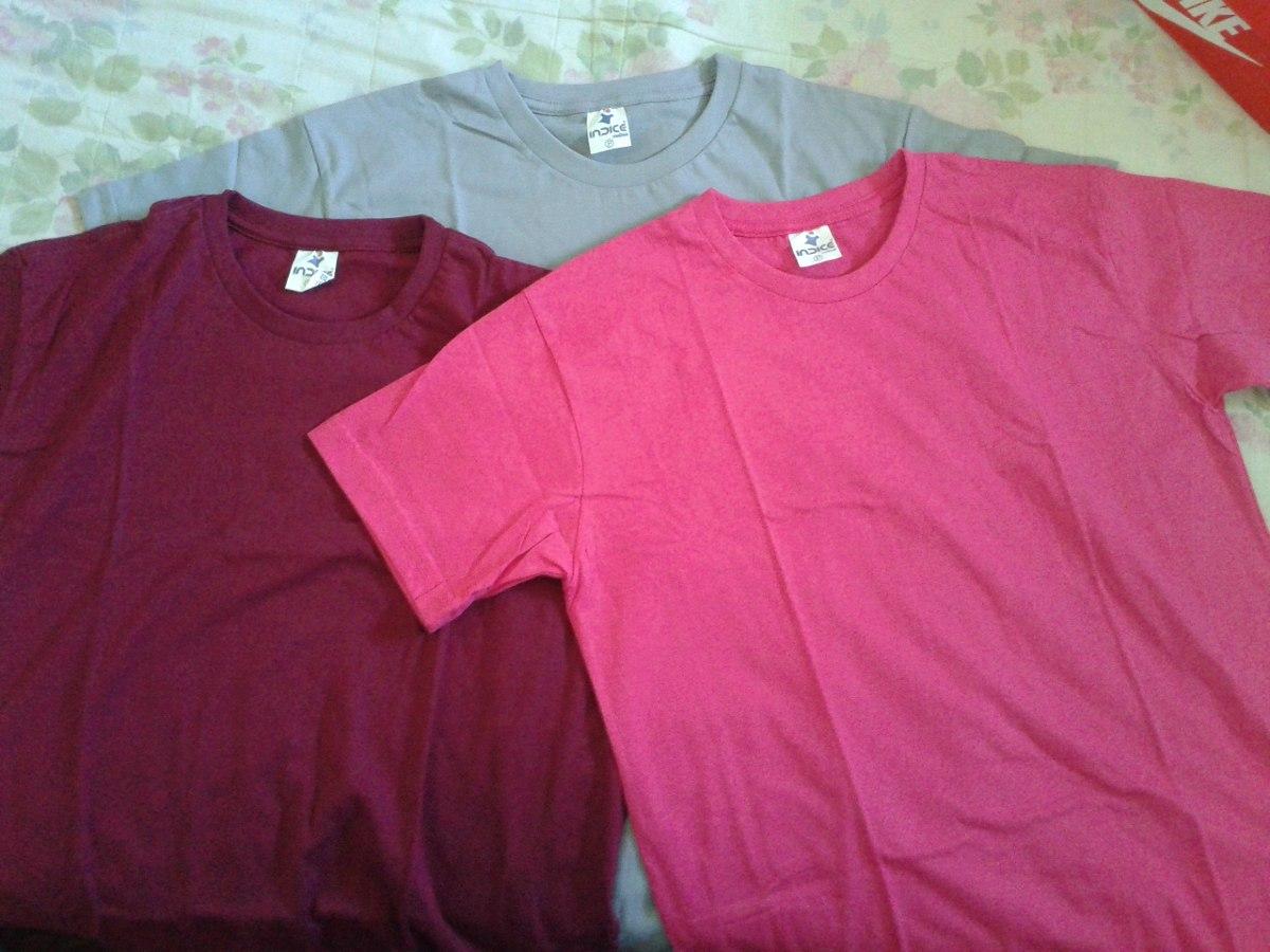 Kit 5 Camisetas Lisas 100% Algodão Fio 30.1 Penteado - R  67 5ff6c74fcac