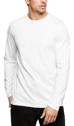 kit 5 camisetas masculinas manga longa - original newbeat
