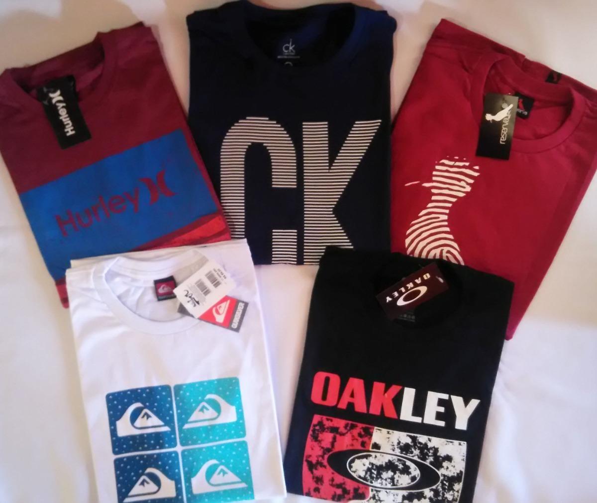 Kit 5 Camisetas Masculinas Qualidade Top Atacado - R  109 3b8d121e0dbc2