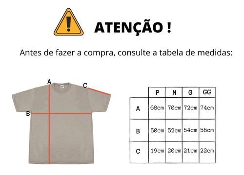 kit 5 camisetas pv brancas malha fria atacado