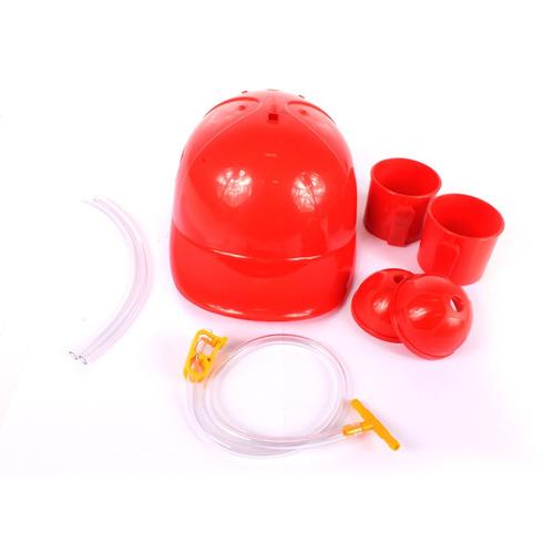 kit 5 capacetes porta latas beberrão -  melhor preço!