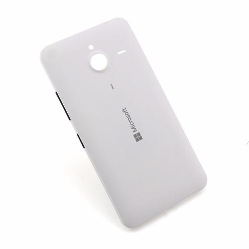 kit 5 capinha tampa traseira celular microsoft lumia 640 xl