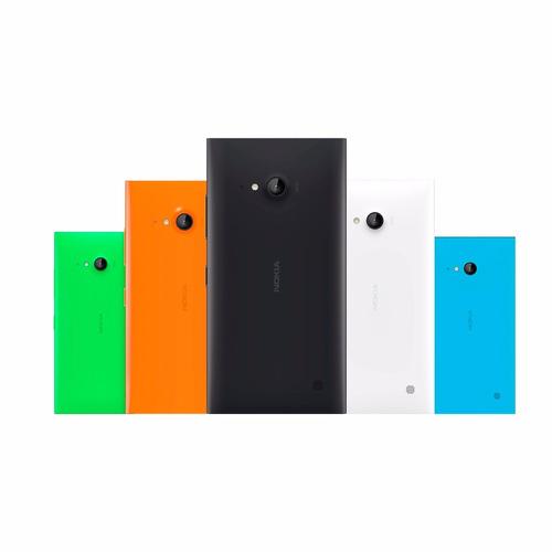 kit 5 capinha tampa traseira celular nokia lumia 730 n730