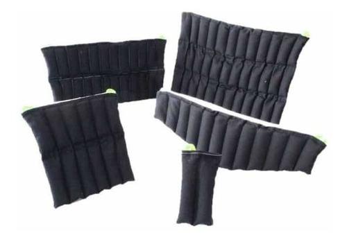 kit 5 compresas de semilla caliente terapeutica fisioterapia