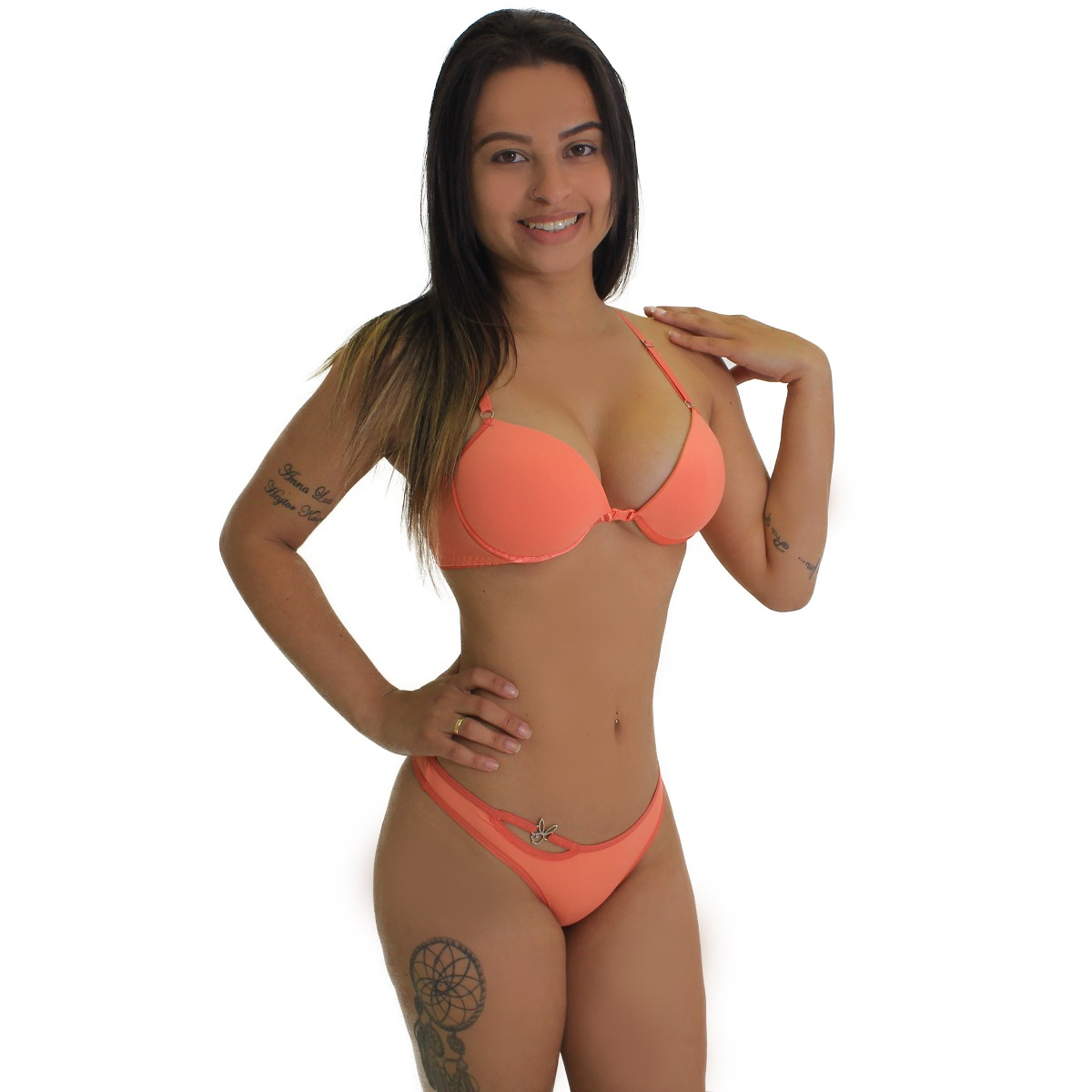 kit 5 conjunto playboy lingerie sutiã calcinha moda feminina. Carregando  zoom. b4f3ff4a449
