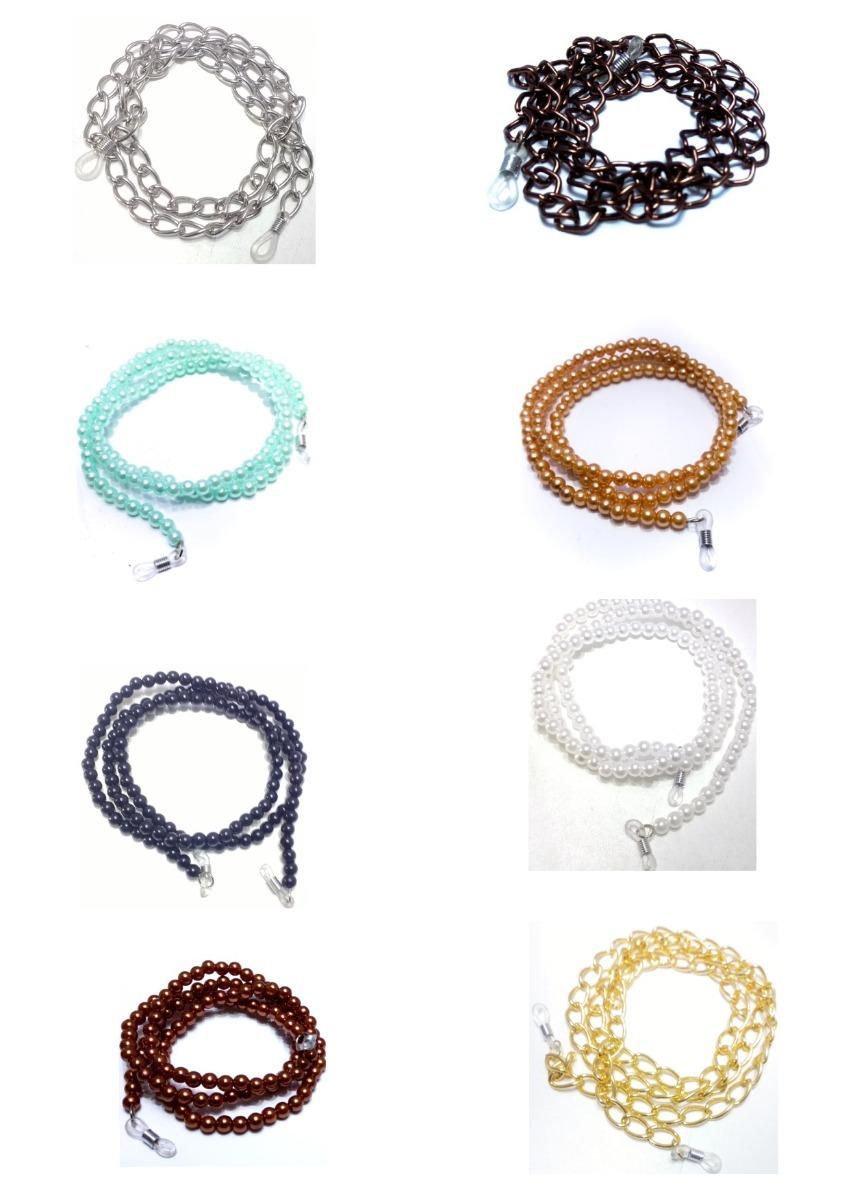 kit 5 correntes salva óculos cordão moda blogueiras cordinha. Carregando  zoom. 344a2509a1