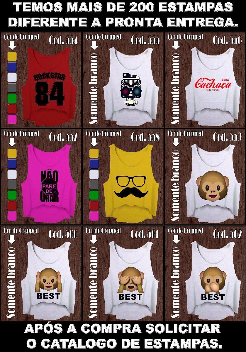 kit 5 cropped camiseta feminina academia. Carregando zoom. be4e8ae092e