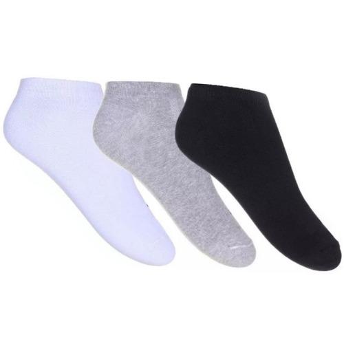 kit 5 cuecas calvin + 5 calcinhas calvin + 12 pares de meias