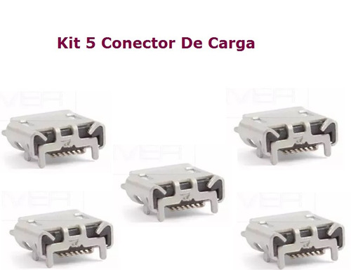 kit 5 dock conector de carga original samsung galaxy s2 tv