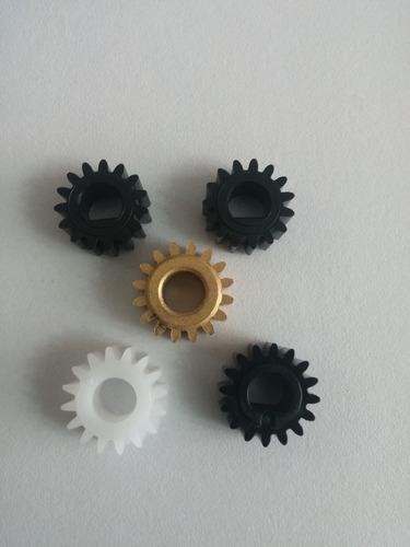 kit 5 engranajes ricoh 1022/1027/2022/2027/2032 mp2550/3025