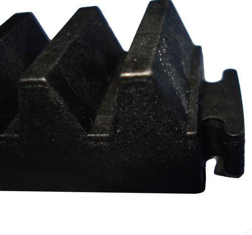 kit 5 gomo de cremalheira 30cm para motor de portão ppa
