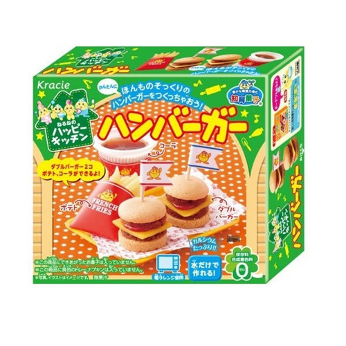 kit 5 kracie popin cookin montar doces japão val. 30/04/2018