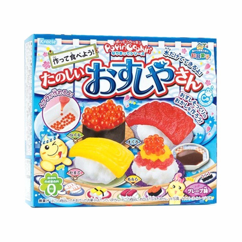 kit 5 kracie popin cookin montar  doces japoneses hachi8