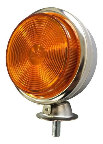 kit 5 lanterna foguinho cromada bojuda maria amarela