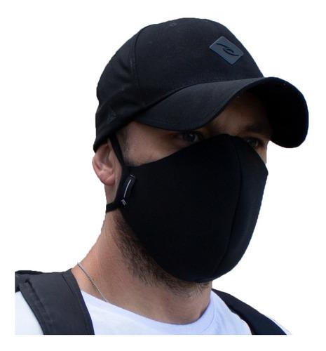 kit 5 mascara reutilizável tecido lavável de dupla camada