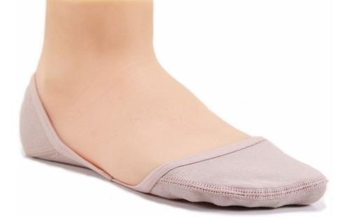 kit 5 meias onfit mini g25 bege *34-36* meia invisível in1