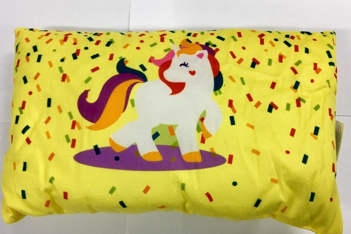 19a0ede85 Kit 5 Mini Almofada Decorativa Colorida Unicornio Infantil - R  84 ...
