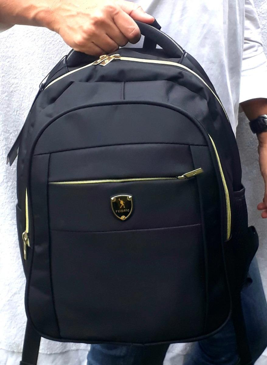 f713cbc55 kit 5 mochilas média preta escolar feibang atacado revenda. Carregando zoom.