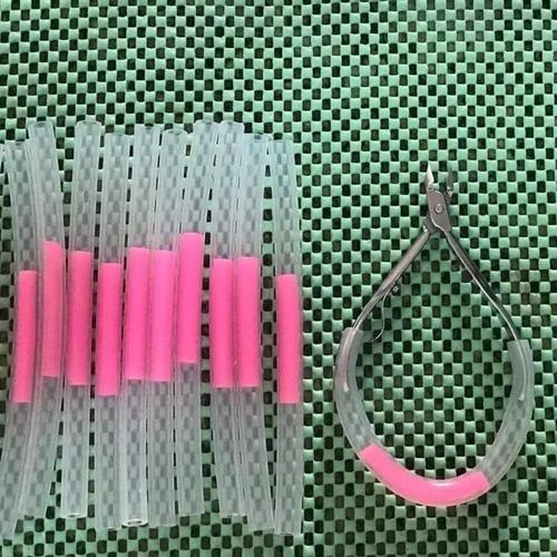 kit 5 molas para alicate de unha em silicone profissional