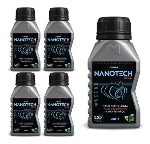 kit 5 nanotech 1000 condicionador de metais koube