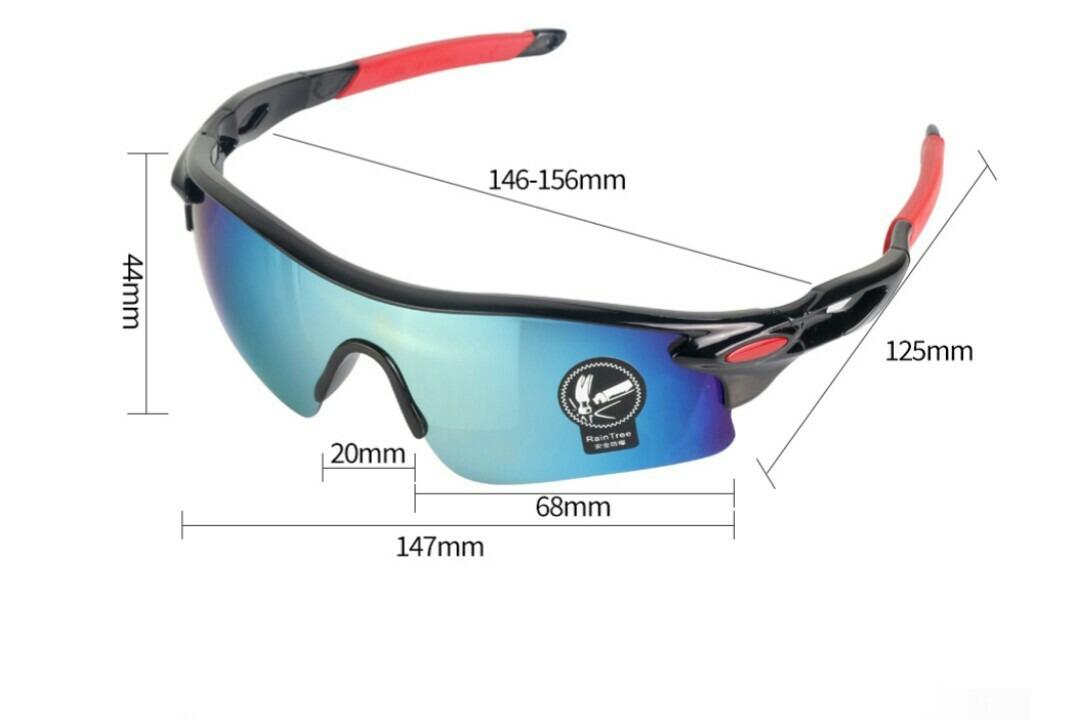 bcb289031462d kit 5 óculos de sol esporte ciclismo ciclista frete grátis. Carregando zoom.