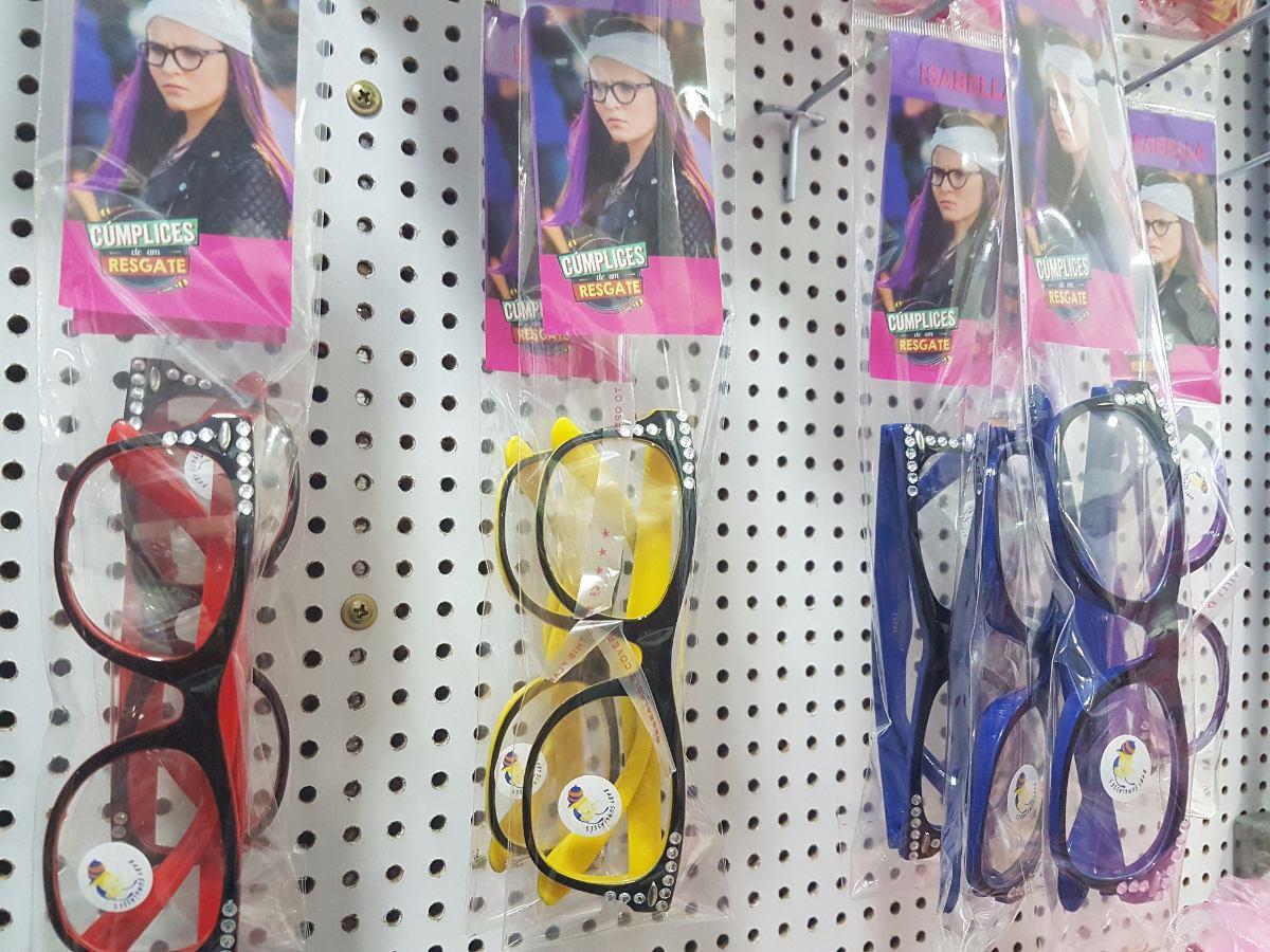 156a7fe307153 Kit 5 Óculos Infantil Novela Isabela Cúmplices Resgate Stras - R  41 ...