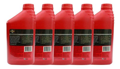 kit 5 óleos havoline semissintético 15w40 api sl