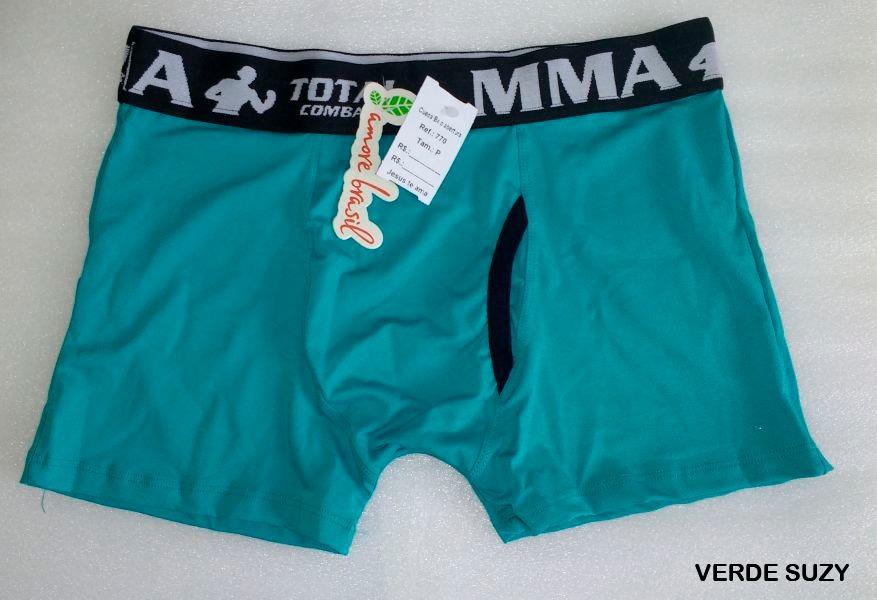b942887fd1a8bf Kit 5 Peças Cueca Slip + Boxer Tamanho P Amore Brasil
