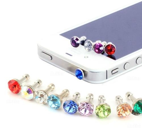 kit 5 peças plug pingente para enfeite smartfones top barato