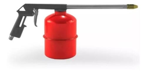 kit 5 piezas compresor aire pistola recipiente manguera