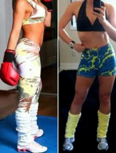 kit 5 polainas feminina aeróbica fitness academia ioga