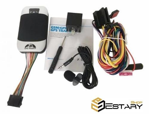 kit 5 rastreador coban gps bloqueador tk-303g carro