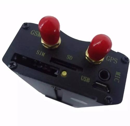 kit 5 rastreador gps bloqueador veicular tk-103b controle