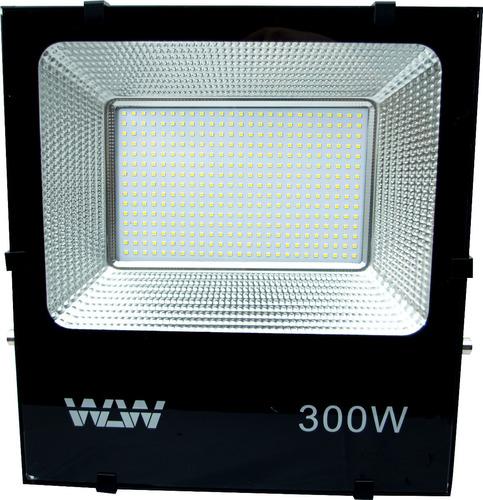 kit 5 refletor holofote led 300w smd branco frio bivolt