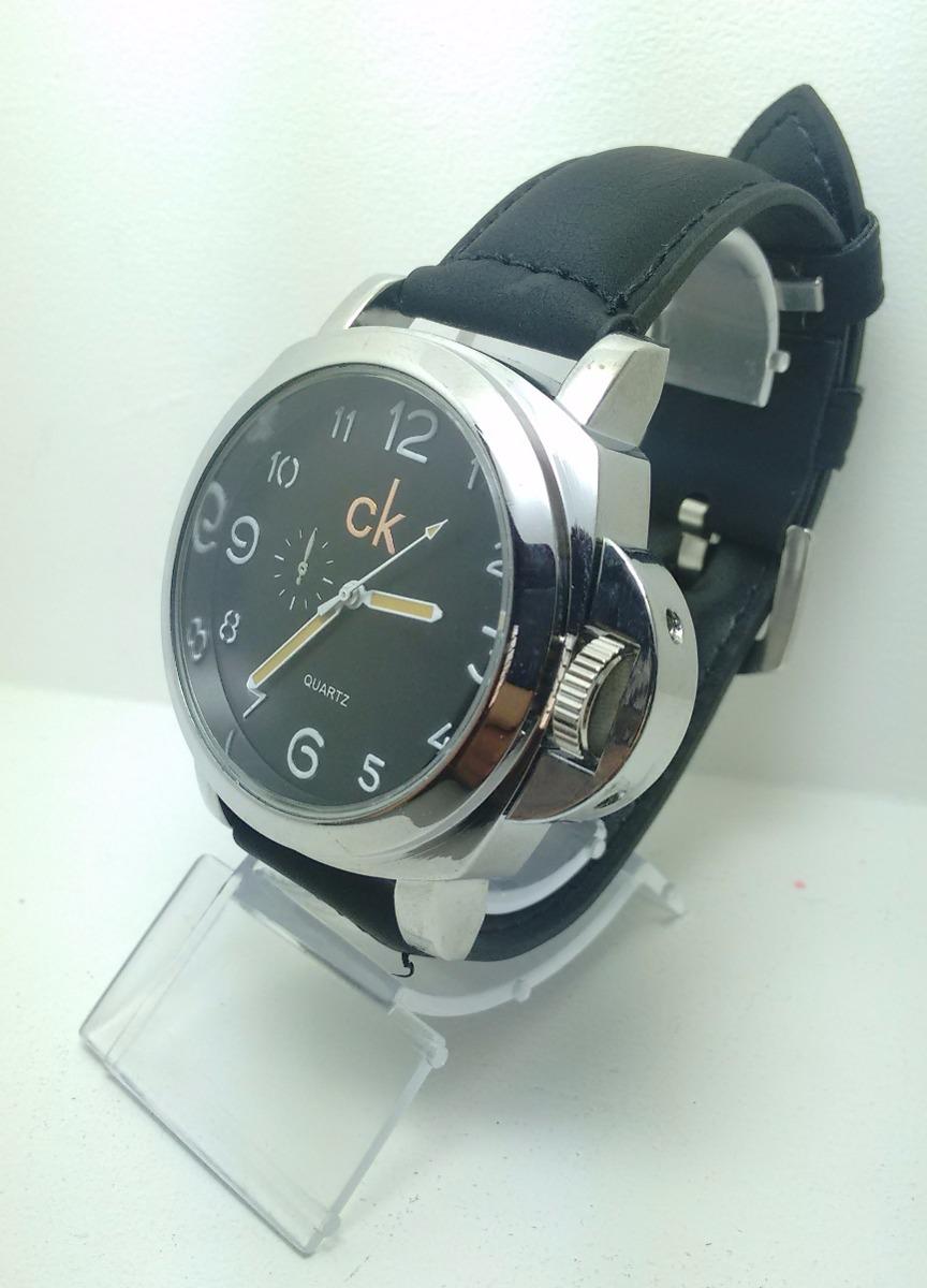 fd1f7c37762b8 kit 5 relógio masculino luxo ck pulseira couro bonito rc1. Carregando zoom.