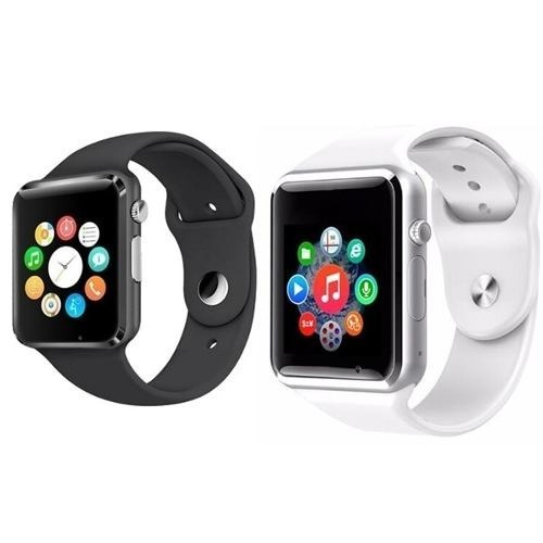 17bbe24130c Kit 5 Relógio Relogio Inteligente Smartwatch A1 Android Ios - R  400 ...