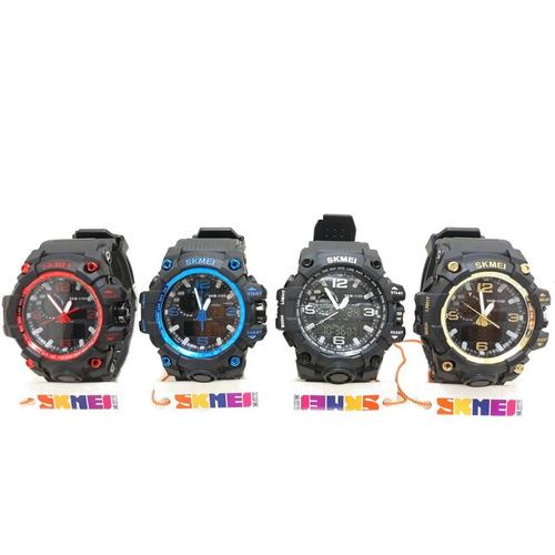 kit 5 relógio skmei 1155 masculino cores variadas original