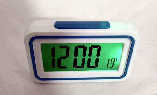kit 5 relógios para deficiente visual c\ alarme fala hora