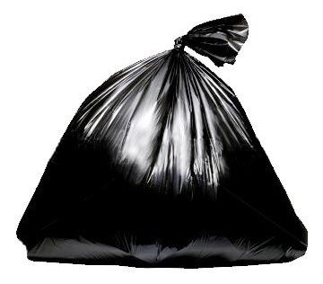 kit 5 rolos - sacos de lixo 15 lts c/500 sacos