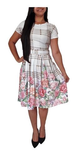 kit 5 roupas femininas vestidos midi evangélico promoção