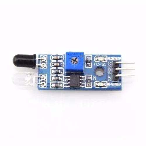 kit 5 sensores de obstáculo infravermelho ir - arduino pic