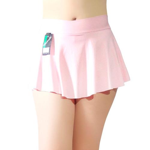 kit 5 short saia tapa bumbum cintura alta fitness zumba 090