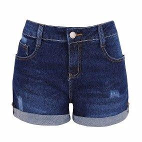 kit 5 shorts jeans feminino plus size tamanho grande-oferta